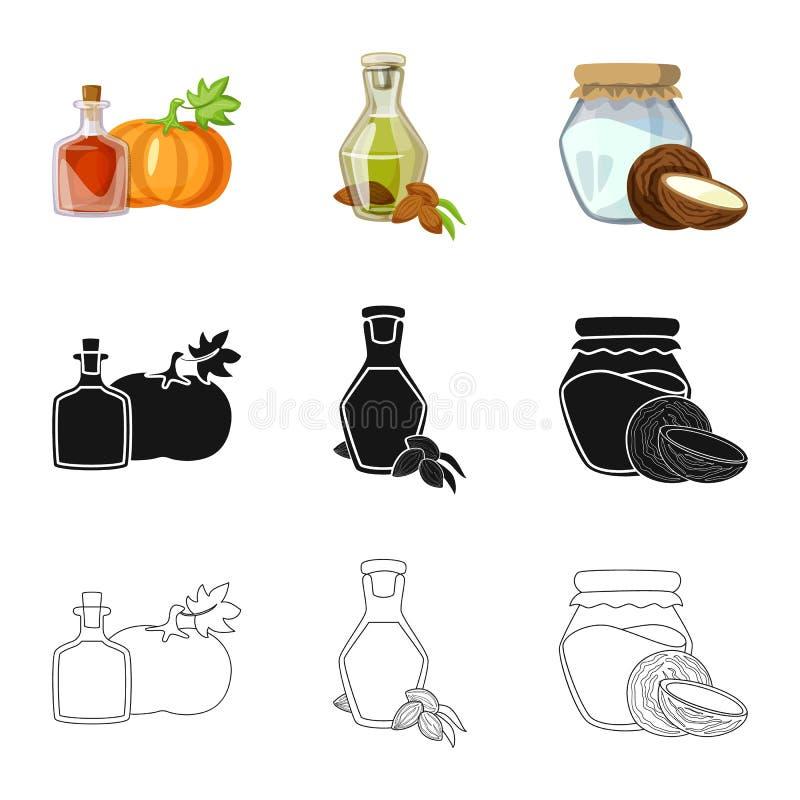 r Set zdrowy i rolnictwo akcyjny symbol dla sieci royalty ilustracja