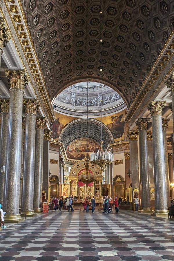 R?ssia St Petersburg Catedral de Kazan imagens de stock