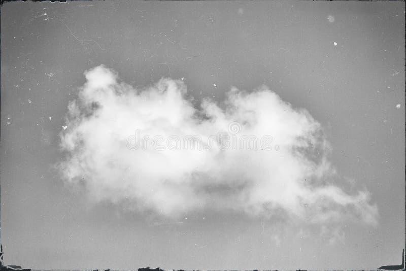 R?sum? d'une photo grunged de cloudscape photos stock