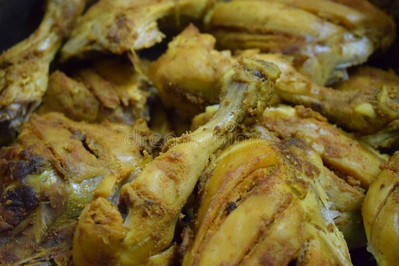 Rôti de poulet photos stock