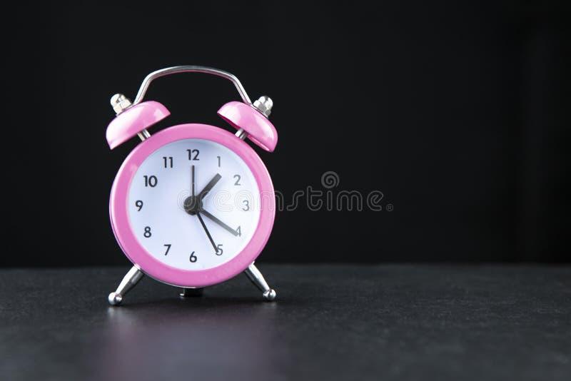R?tro horloge d'alarme photo stock