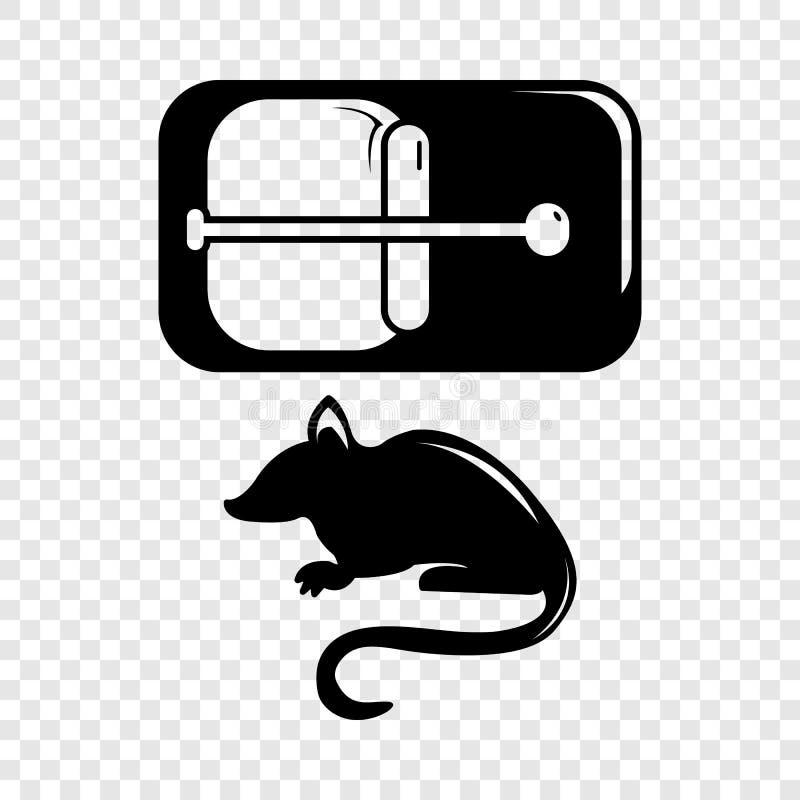 R?ttf?llasymbol, enkel svart stil royaltyfri illustrationer