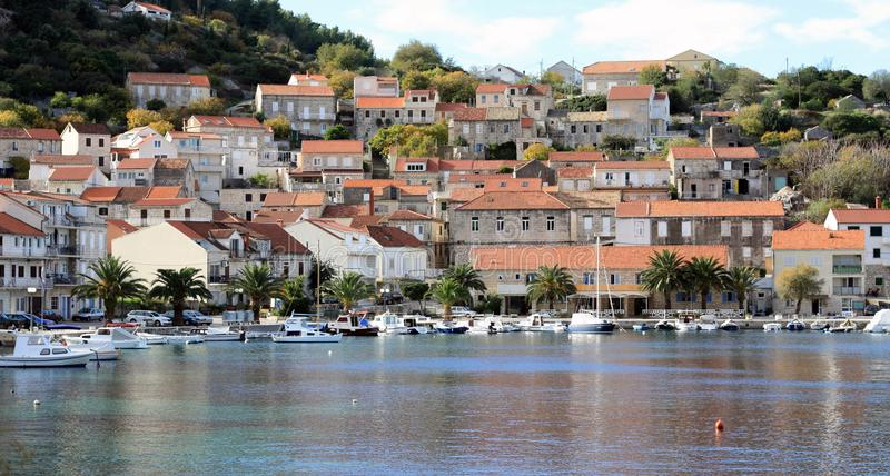 Racisce Croatia panoramic view stock photography