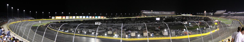 Raça All-star 2010 do estrada de motor NASCAR de Charlotte imagem de stock royalty free