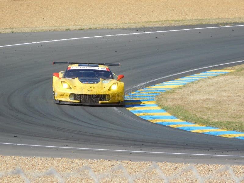Raça da raça amarela fotografia de stock royalty free