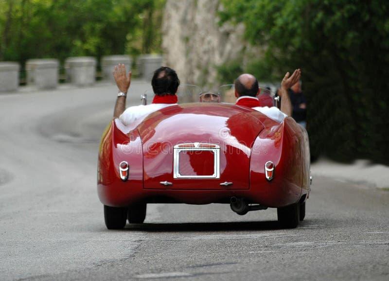 Raça de Mille Miglia (*) fotografia de stock
