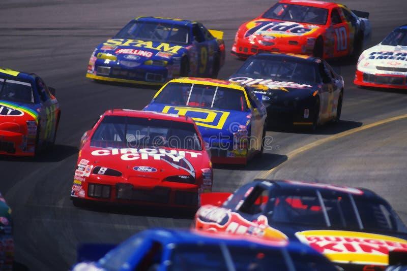 Raça de NASCAR foto de stock