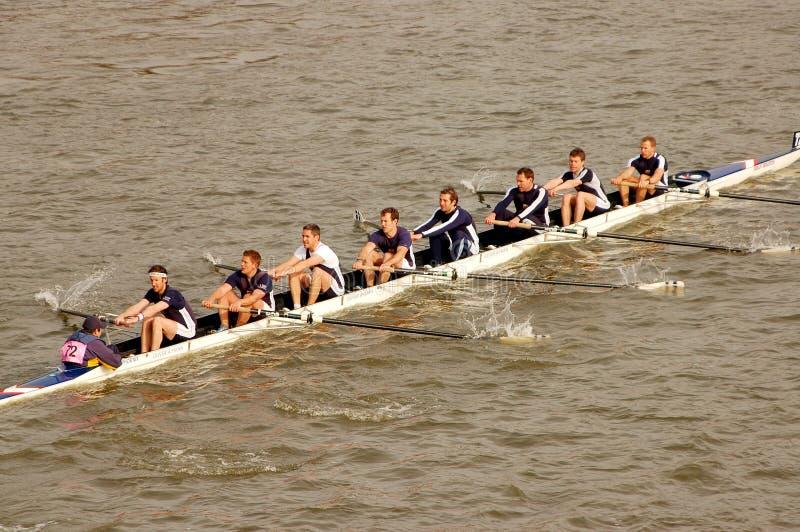 Raça do rio foto de stock