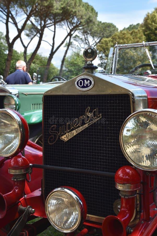 Raça histórica do miglia de Mille, Itália ii imagem de stock royalty free
