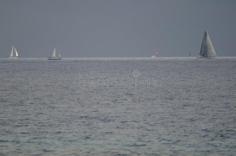 Raça transatlântica da ilha de Gran Canaria fotografia de stock royalty free