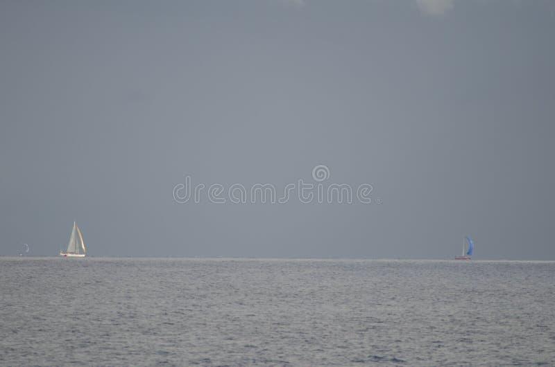 Raça transatlântica da ilha de Gran Canaria fotos de stock