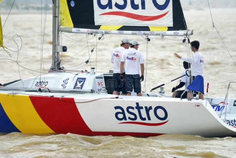 Raça Yachting imagens de stock