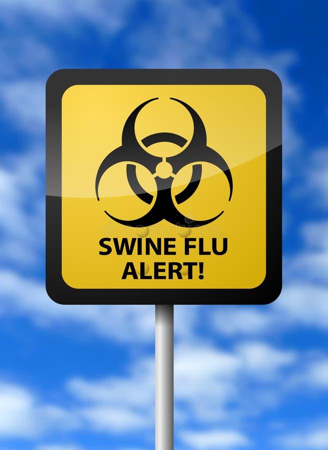 raźne grypowe chlewnie royalty ilustracja
