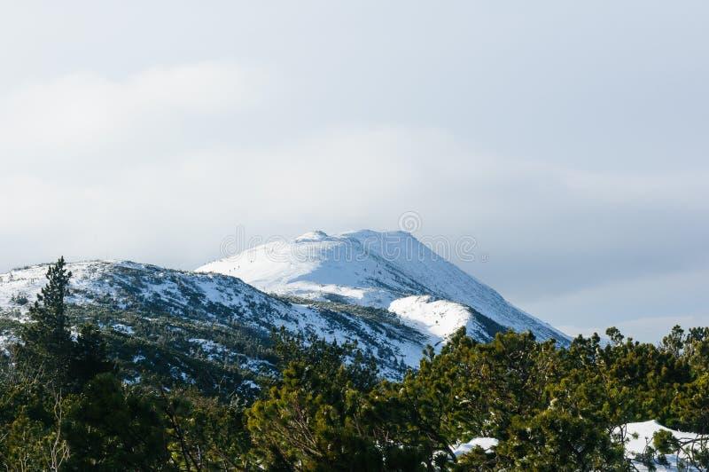 Ra del ³ de Babia GÃ - ` del pico del ` s del diablo del ` de Diablak, que es también el pico más alto de esta parte de las monta imagen de archivo