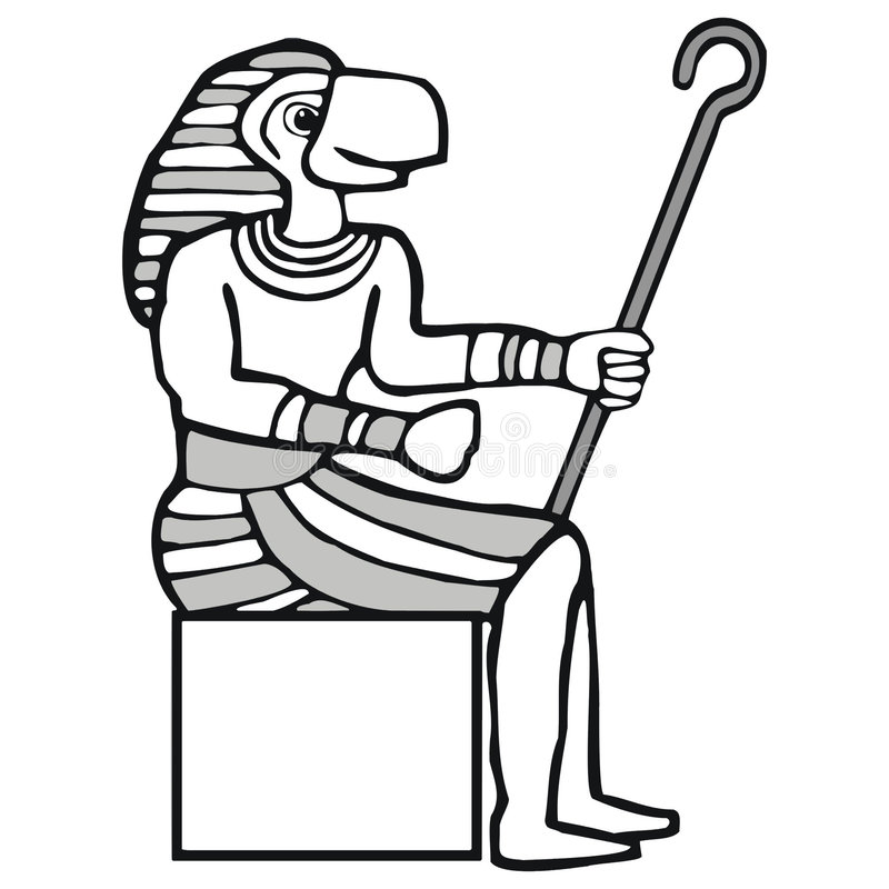 Free Ra, Egyptian God Royalty Free Stock Photography - 3289257