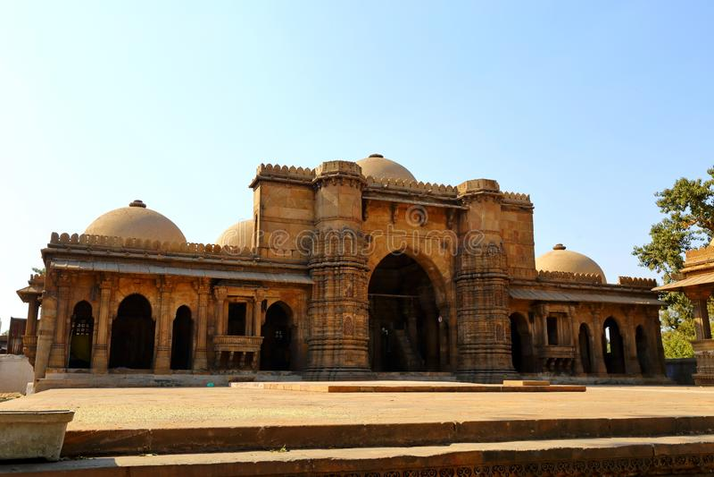 RA Masjid Harir Hazrat στο Ahmedabad σε Ινδό στοκ φωτογραφία με δικαίωμα ελεύθερης χρήσης