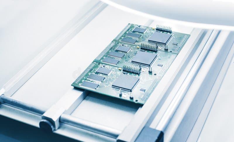 Raad of Chip Manufacturing royalty-vrije stock afbeeldingen