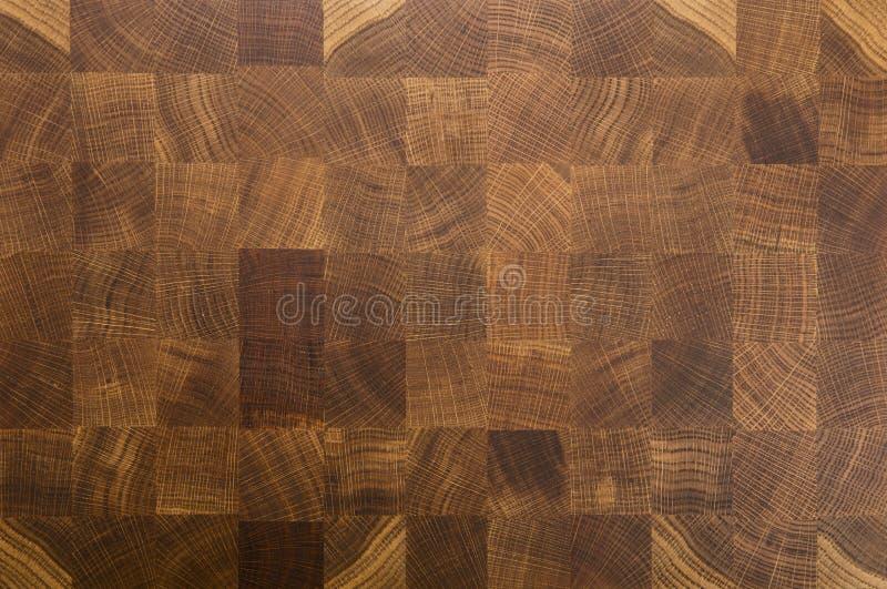 Raad van het de korrel de hakkende blok van het eiken hout butcher's eind royalty-vrije stock fotografie