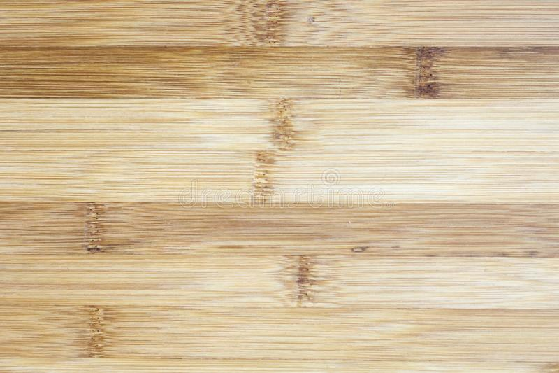 Raad van natuurlijk bamboehout dat wordt gemaakt Achtergrond i van het texturenpatroon stock fotografie