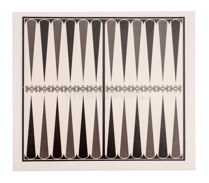 Raad voor een spel van backgammon royalty-vrije stock foto