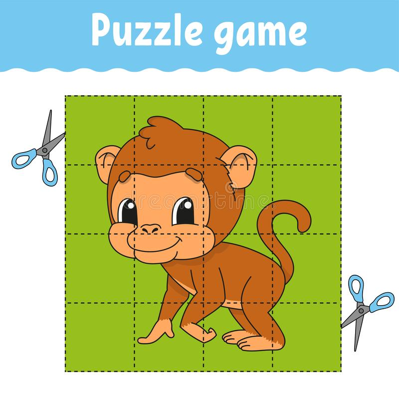 Raadselspel voor jonge geitjesonderwijs Onderwijs die aantekenvel ontwikkelen Spel voor jonge geitjes Activiteitenpagina Raadsel  royalty-vrije illustratie
