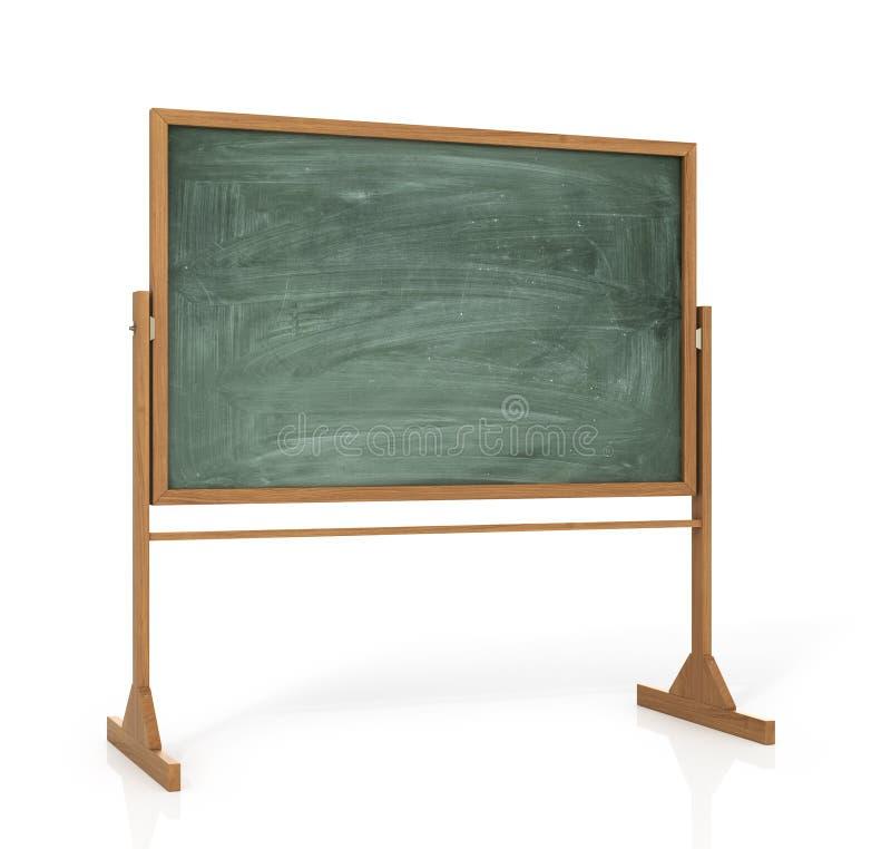 Raadsmenu of aan studie stock illustratie