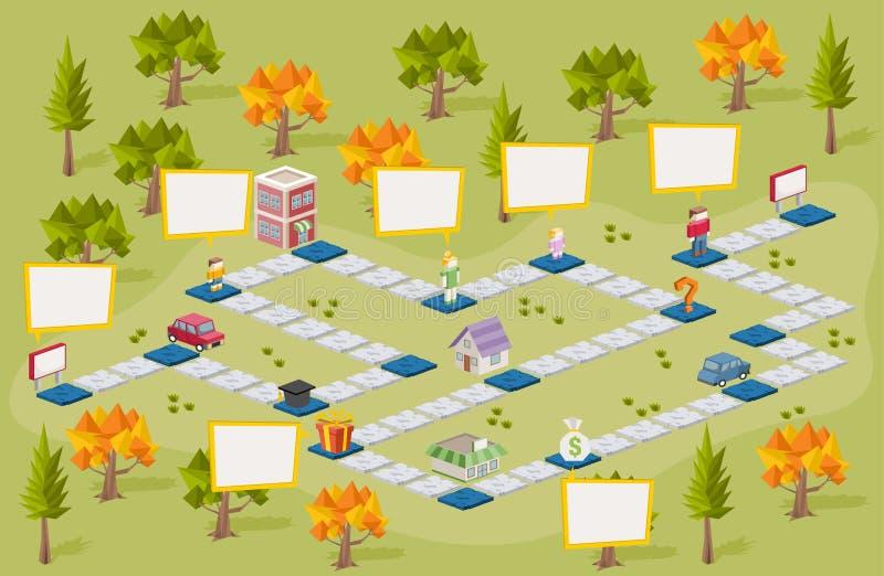Download Raadsspel Met Mensen Op De Stad Vector Illustratie - Illustratie bestaande uit nave, volledig: 54085548