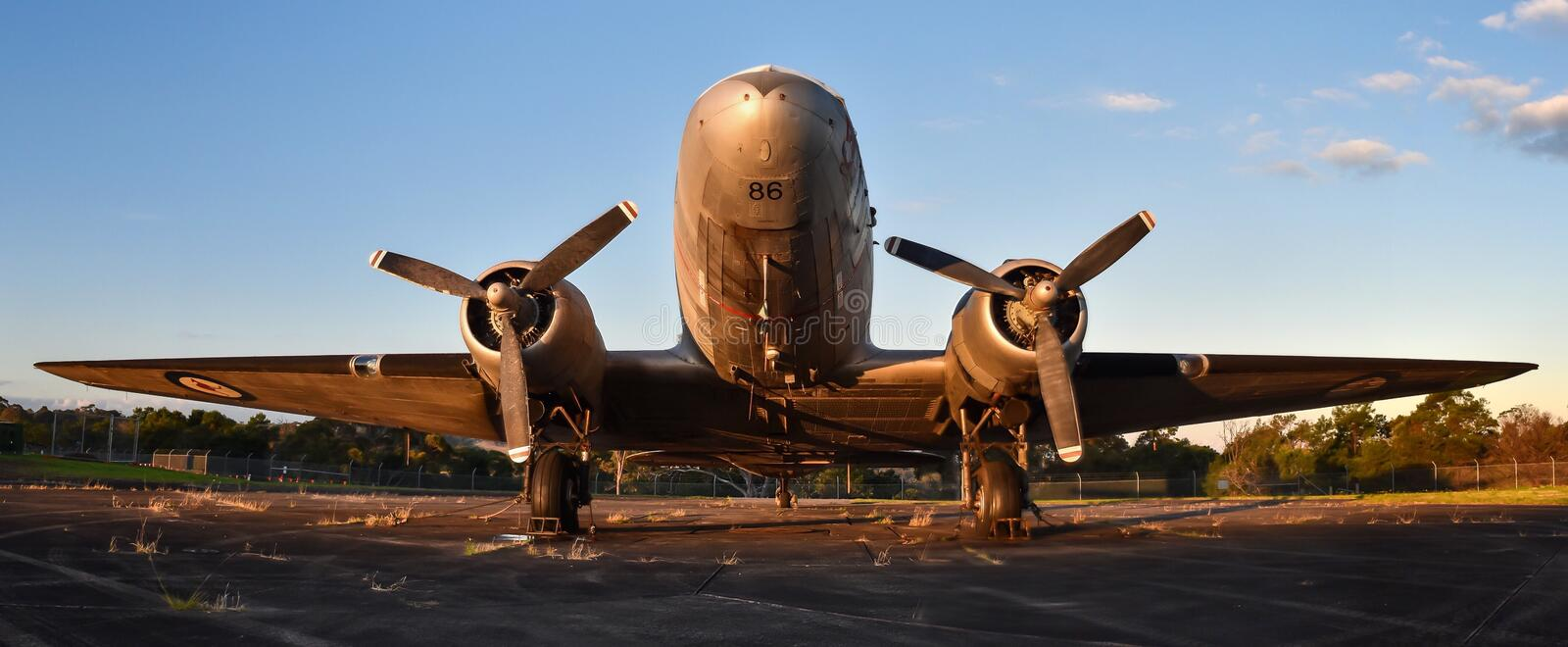 RAAF DC3 photographie stock