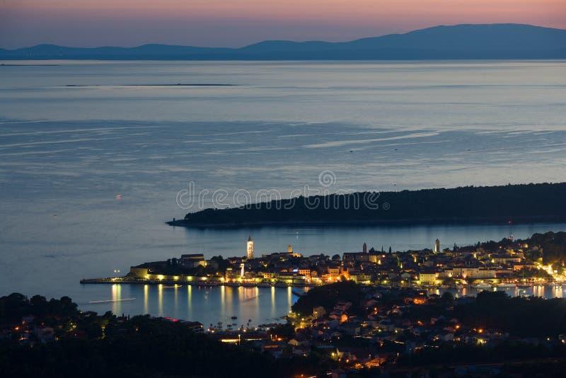 rab Хорватии стоковое фото