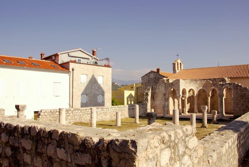 rab Хорватии стоковое изображение
