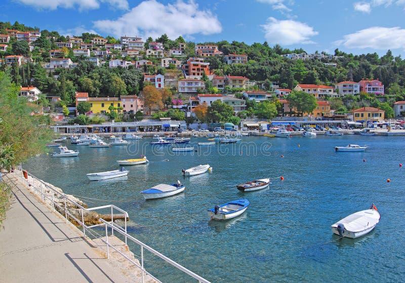 Rabac, Istria, Croatia imagens de stock