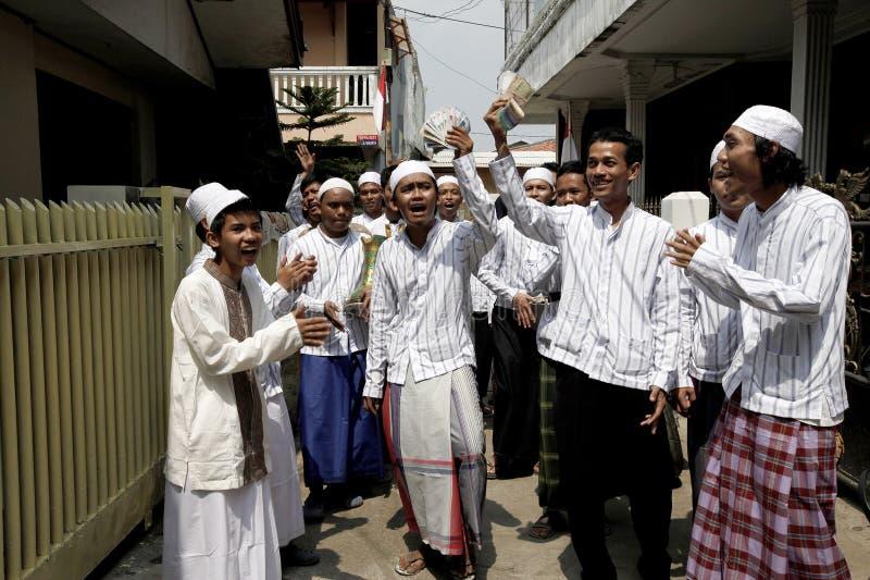 Rabana drzwi drzwi W wschodzie Dżakarta zdjęcie royalty free