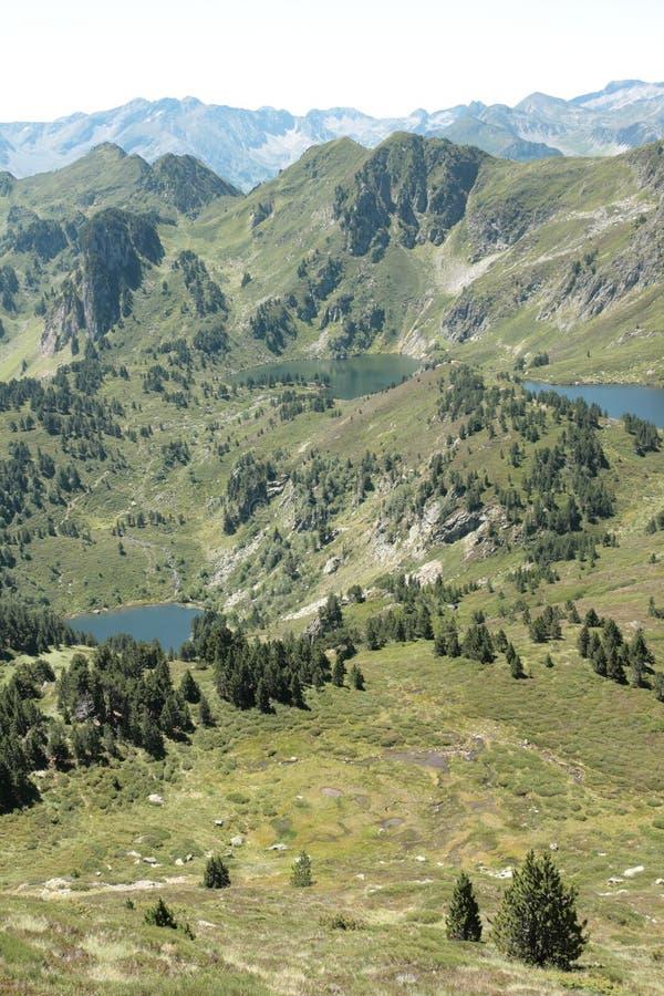 Rabassoles See in Pyrenäen, Frankreich stockfoto
