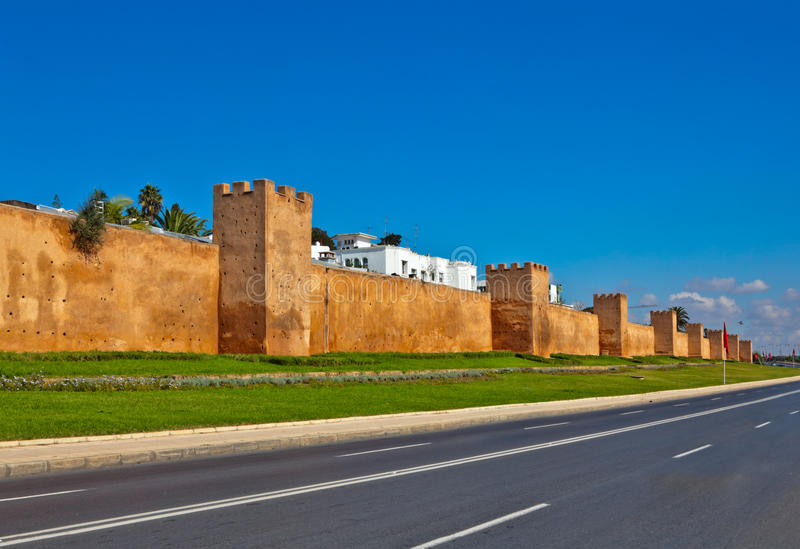Rabat royalty-vrije stock fotografie