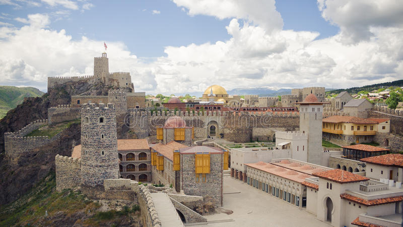 Rabat Fortress in Akhaltsikhe, Georgia royalty free stock photo