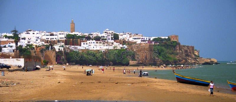 Rabat Marocko royaltyfria foton