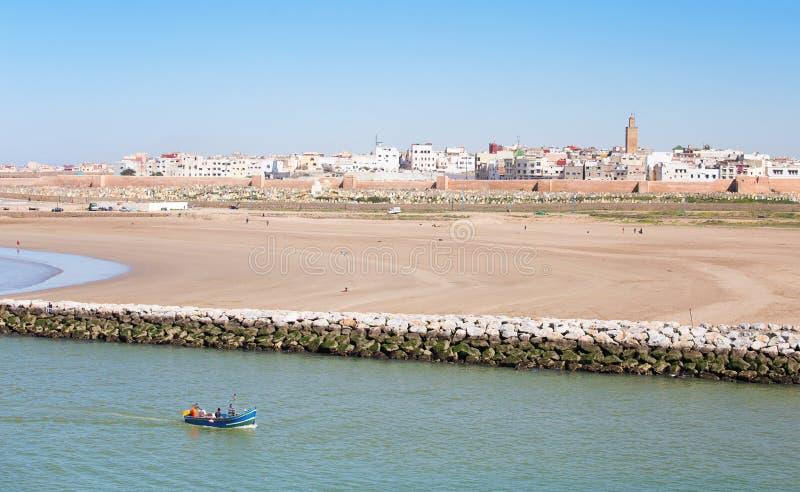 Rabat Marocko arkivbilder