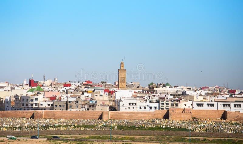 Rabat Marocko royaltyfri fotografi