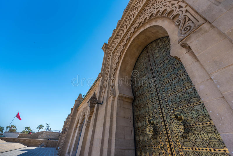 Rabat - mauzoleum Mohammed v zdjęcia royalty free