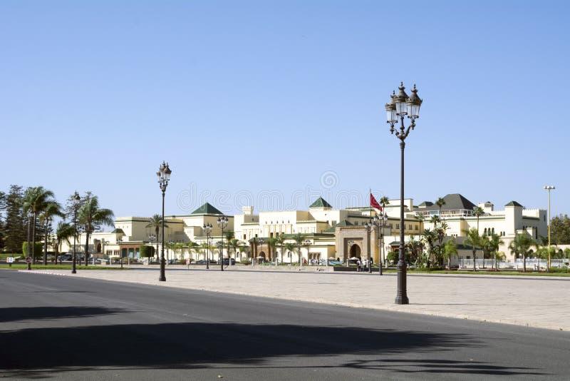 Rabat Royal Palace royaltyfri fotografi