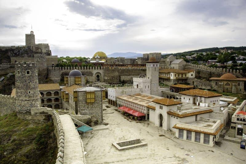 Rabati城堡在阿哈尔齐赫,乔治亚 图库摄影