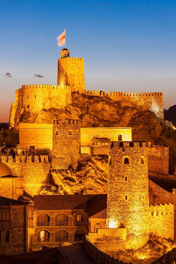 Rabati城堡,乔治亚 库存照片