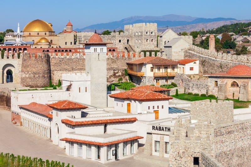 Rabati城堡,乔治亚 免版税库存照片