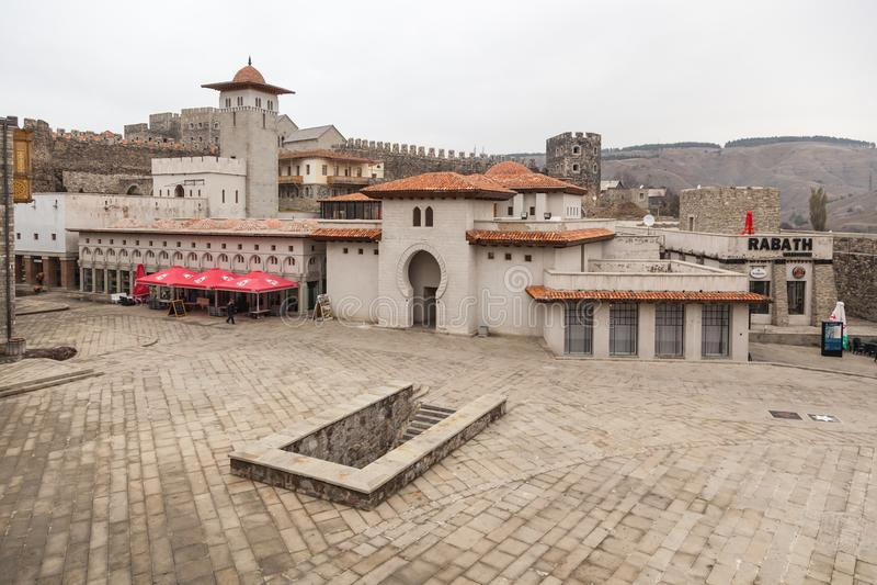 Rabati Castle in Akhaltsikhe, Georgia. royalty free stock photography