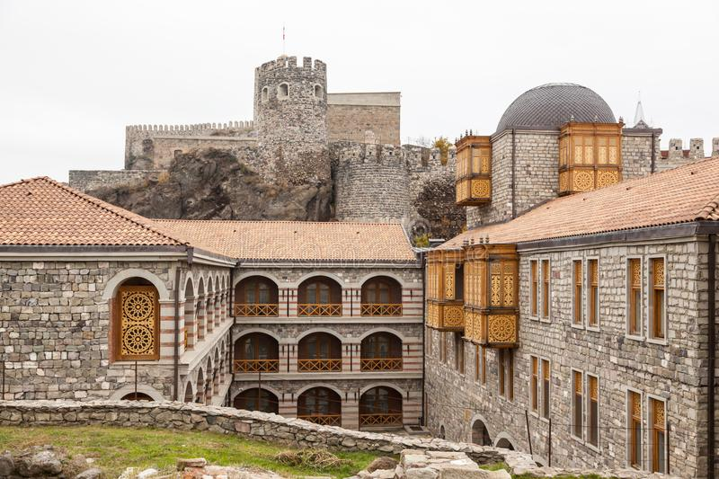 Rabati Castle in Akhaltsikhe, Georgia. royalty free stock image