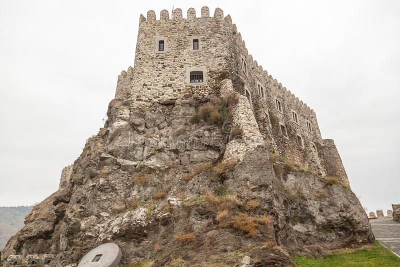 Rabati Castle in Akhaltsikhe, Georgia. royalty free stock photos