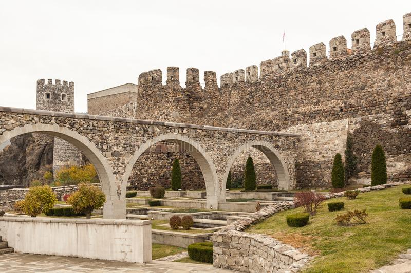 Rabati Castle in Akhaltsikhe, Georgia. royalty free stock photo
