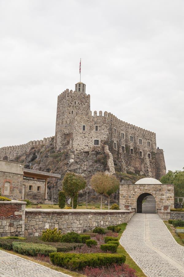 Rabati Castle in Akhaltsikhe, Georgia. royalty free stock image