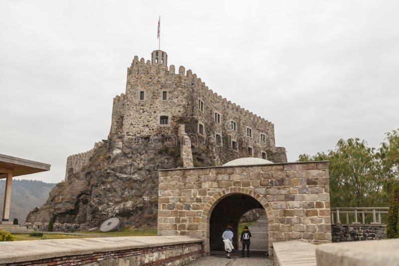 Rabati Castle in Akhaltsikhe, Georgia. stock photos