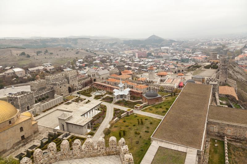 Rabati Castle in Akhaltsikhe, Georgia. royalty free stock images
